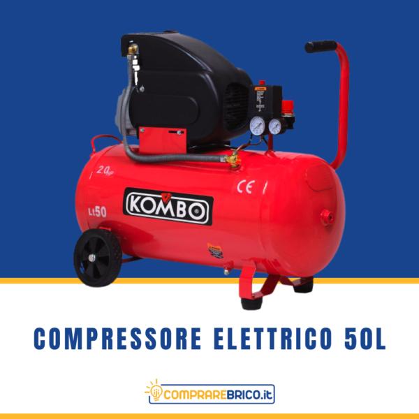 Compressore elettrico 50L
