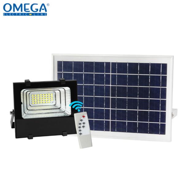 Floodlight ad energia solare 25W