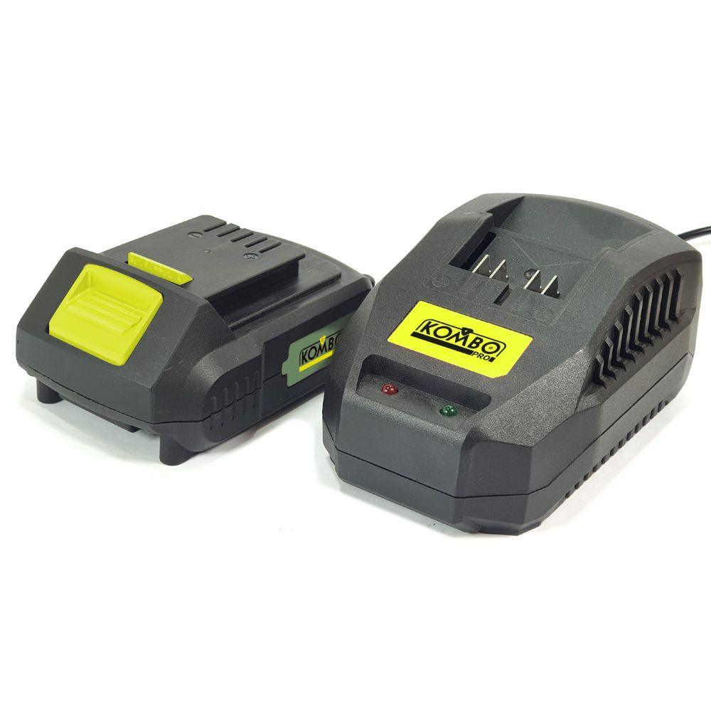 Batteria LI-ION 2.0Ah + Caricabatteria 2,4A