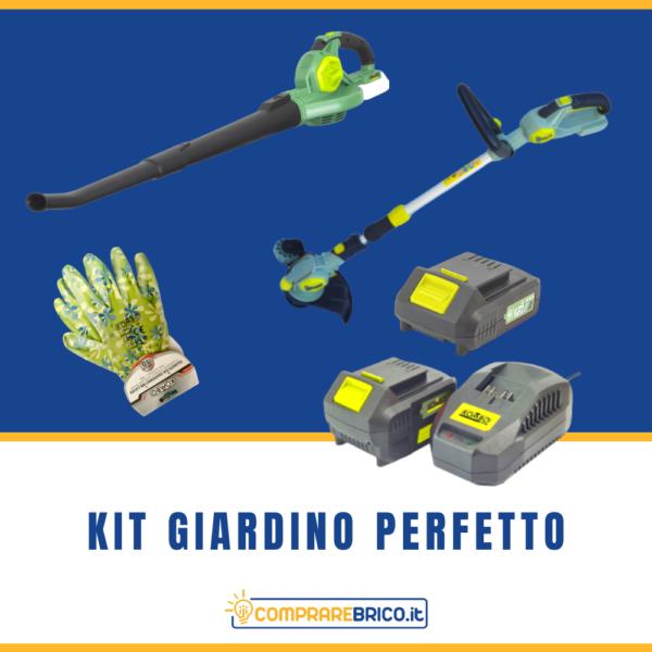 Kit Giardino Perfetto 2 Batterie