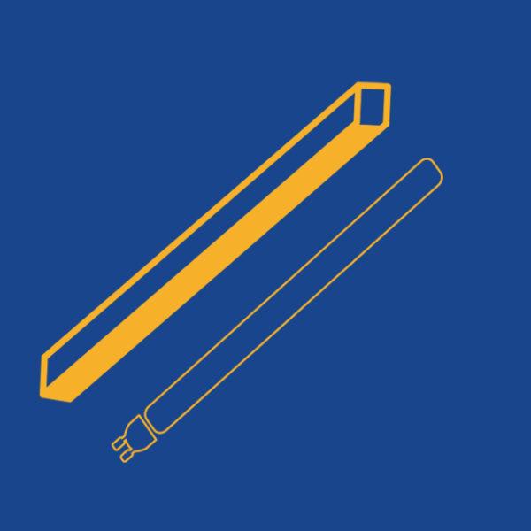 Plafoniere, Tubi e Pannelli LED