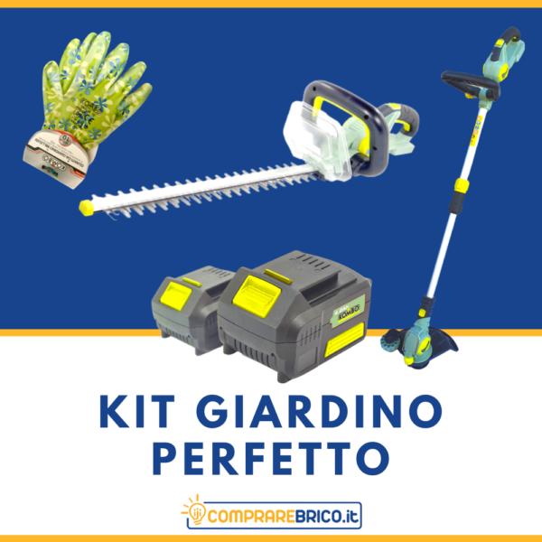 Kit Giardino Perfetto 4Ah